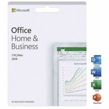 Microsoft Office Home & Business 2019 for Windows PC or MAC - Lifetime/Perpetual