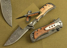 tactical hunting survival fold military combat outdoor Classic Folding knife