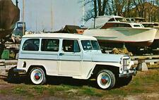Old Print. 1957 Willys Jeep Utility Wagon auto ad
