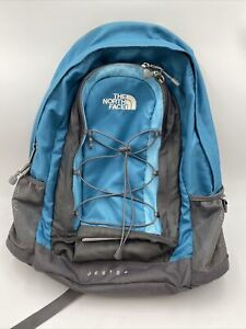 The North Face Jester Unisex Blue/Gray Backpack