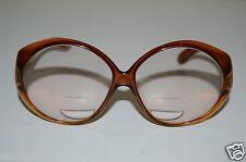 6f2468da83 WOW Vintage Women s AUSTRIA Orange Brown Butterfly Eyeglasses Frames RARE  MINT