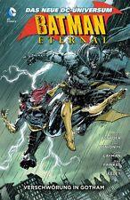 BATMAN ETERNAL PAPERBACK HC deutsch 1-5 kpl. SCOTT SNYDER Variant-Hardcover 1-52