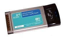 3Com 3CRWE154G72 OfficeConnect PCMCIA Notebook Wireless 11g PC Card