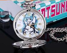 Christmas present,Anime Pocket Watch  with chain +box