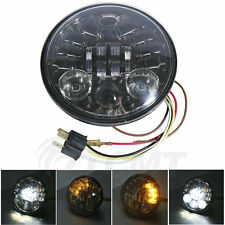 """5.75"""" Daymaker Projector LED Bulbs Headlights For Harley Dyna Super Wide Glide"""