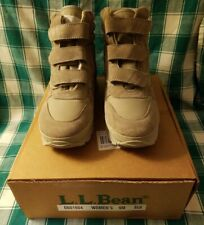 """Women's """"LL Bean"""" Gray Leather/Suede Thinsulate Lined Hiking Winter Boots 9M NIB"""