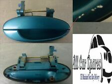 Daewoo Tacuma - Driver Rear Aqua Blue Metallic Exterior Door Handle