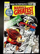 MARVEL'S GREATEST COMICS 33 (12/71 7.0 non-CGC) KIRBY/LEE CLASSICS! 1st INHUMANS