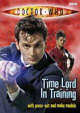Doctor who: seigneur du temps en formation, justin richards, new book