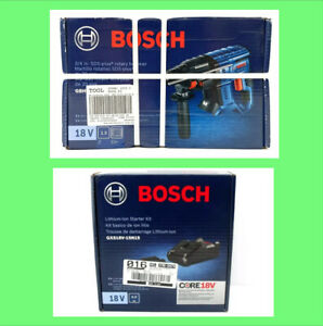 Bosch SDS-Plus 18V Rotary Hammer Drill + 4.0ah Battery + Charger Kit GBH18V-20N
