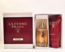 La Femme Intense EDP Prada Mini Splash Bottle 9 ml / .3 oz & Hand Cream 15 ml