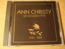 CD / ANN CHRISTY - DE GOUDEN HITS 1945 - 1984