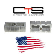 "01-2010 Chevy GMC Sierra Silverado 1500HD 2500HD 3500HD 1"" Rear Lift Block Kit"