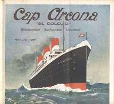 Programme Colon Theatre Opera G Cobelli S.S Cap Arcona 1927