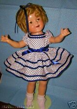 HANDMADE DRESS SET FOR SHIRLEY STAND UP & CHEER SIZES FOR ANY DOLL NRSV