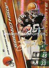 Adrenalyn XL NFL - Josh Cribbs - Browns - #8 Ultimate