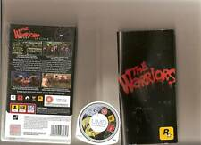 WARRIORS SONY PSP BASED ON RETRO FILM RATED 18