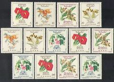 Colombia 1960 Flowers/Plants/Nature/Orchid/Lily 13v set (n37191)