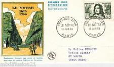 1959**ENVELOPPE,FDC 1°JOUR**ANDRE LE NOTRE.VERSAILLES-PARIS**TIMBRE Y/T 1208