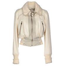 Stylish DIESEL Wool/Leather Bomber Jacket size L