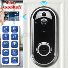 2 Way WiFi Wireless Video Doorbell Door Bell PIR Talk Security Smart Camera US