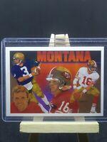 Joe Montana 1991 Upperdeck Football Heroes #9 of 9 San Francisco 49ers Card, HOF