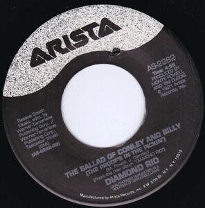 "DIAMOND RIO - The Ballad Of Conley And Billy 7"" 45"
