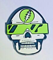 Grateful Dead, 80's, Hatpins, Hat Pin, Skull, Glow in the Dark, Deadhead, Bolt