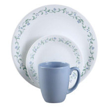 Corelle Country Cottage 16-Piece Vitrelle Dinnerware Set Dinner Dishes for 4