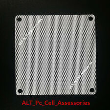 120mm Computer PC Dustproof Cooler Fan Case Cover Dust Filter Mesh + 4 screws W