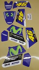 YAMAHA PW 50 ROSSI MOTO GP #46 GRAPHICS DECALS STICKER KIT