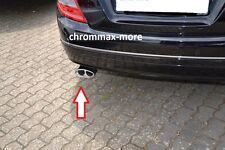 Auspuffblende Mercedes C-Klasse W204 Limo ab 2007 >  aus EDELSTAHL