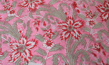5 Yard Indian Hand block Print Running Loose Cotton Fabrics Printed Decor @30