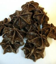 Chocolate Stars Candy Blommer 2lbs 907g Piped milk chocolate the shape of stars!