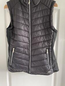 Ladies Trespass Bodywarmer Gilet UK 14 EU 42 Black Polyamide Blend