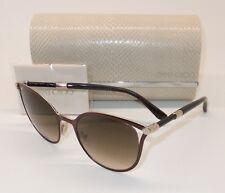 JIMMY CHOO NEIZA/S J6LJD Sunglasses Brown Rose Gold/Brown Grad ITALY UA9-4/25