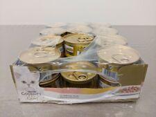 PURINA GOURMET GOLD Umido Gatto Dadini in Salsa Salmone Pollo 23 lattine 85g