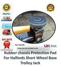 Rubber Pad for Halfords 2 Tonne Trolley Jack Short Wheel Base classic car tool