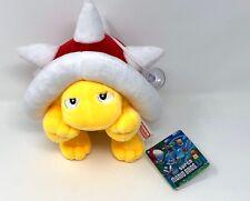 "Super Mario Bros U 2012 SPINY 7"" plush stuffed toy doll Nintendo Authentic USA"
