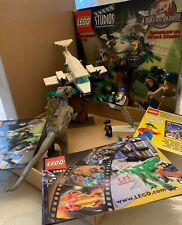 HTF Lego Studios Jurassic Park III Spinosaurus Attack 1371 COMPLETE Dinosaur Set
