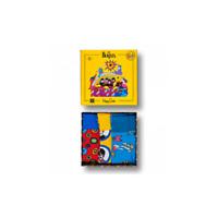 Happy Socks Men's 3-Pack The Beatles EP Socks Gift Box, Yellow Submarine