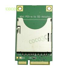 Mini PCI-e to SD SDXC SDHC MMC Card Adapter as Laptop Mini ITX mini PCIe SSD