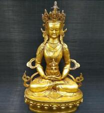 China Tibetan Buddhism Brass statue King Kong Buddha