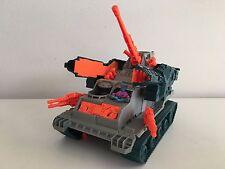 GI Joe Brawler Tank 1990 with Ninja Force Night Creeper