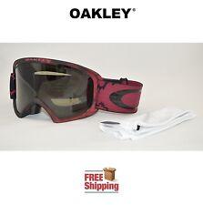 OAKLEY® GOGGLES O2™ XL 02 DUAL LENS SNOW BOARD SKI CHEMIST FIRED BRICK W/ TINT