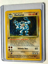 First Edition Pokémon Machamp Individual Cards for sale   eBay