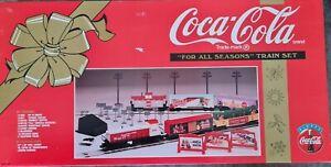 Coca-Cola For All Seasons Train Set K-Line K-1425 With Barrel Loader