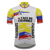 Retro Cafe De Colombia Vintage Cycling Jersey