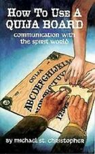 How to Use a Ouija Board Spirit Communication Book Wiccan Pagan