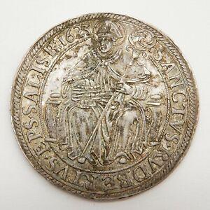 1 Taler Paris von Lodron Authentische Patina Münze Thaler Silber VZ Österreich